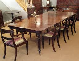 ... Dining Tables, Astounding Brown Rectangle Contemporary Wooden 12 Seat  Dining Table Stained Ideas: Simple ...