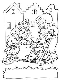 Kindje Pepernoten Zwarte Piet Knutselpaginanl Knutselen
