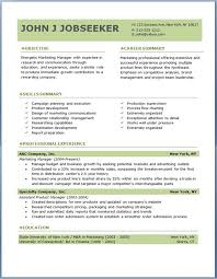 Executive Resume Samples Free Bunch Ideas Of Splendid Marketing
