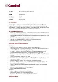 Business Development Manager Cover Letter Sample Business Development Manager Application Letter Tomyumtumweb Com