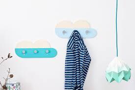 Boys Coat Rack Amazing Blue Cloud Shaped Wall Hooks Kids Clothes Hooks Blue Nursery
