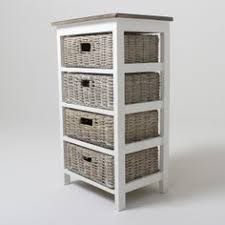wicker basket shelves. Contemporary Shelves Storage Cabinet With Wicker Baskets   Bay Four Basket Unit   In Shelves H
