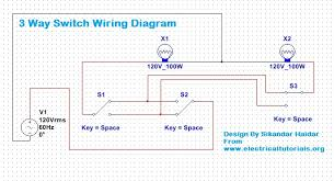 3 way switch wiring diagram explanation (urdu hindi) electrical Easy 3 Way Switch Diagram in the above diagram i showed how to control 2 light bulbs from three switches however if still you have any difficulties then for better understanding easy 3 way switch diagram with two lights