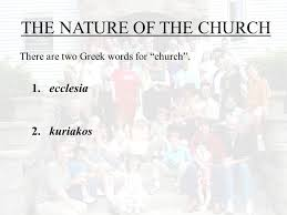 Words For Church Are You Sure The Church Is Ppt Download