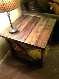 rustic end table plans pine coffee table plans c pine table plans lovable wood end tables