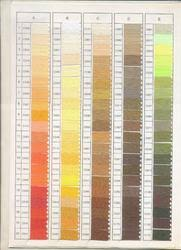 Color Shade Chart Color