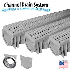 Concrete Trench Drain Design Source 1 Drainage Trench Driveway Channel Drain With