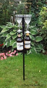 outdoor pieces garden drinks holders