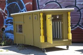 Small Picture Artist Greg Kloehns mini mobile houses given to the homeless made
