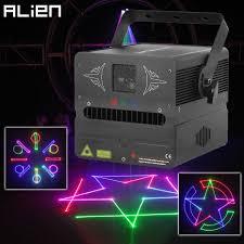 Laser Light To Scare Monkeys Alien 500mw Rgb Sd Card Dmx Animation Stage Laser Lighting Projector Disco Dj Party Wedding Club Bar Professional Effect