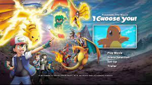 Pokémon the Movie I Choose You! DVD Menu - YouTube