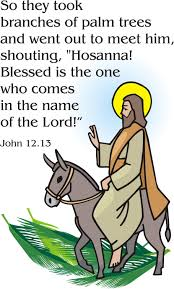Image result for palm sunday clipart