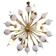 Sputnik Style Lighting Very Large Sputnik Style Murano And Brass Fixture Light