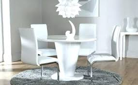 gloss dining tables uk white gloss dining table and chairs dining luxury dining table set round