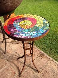 diy mosaic table the best mosaic tables images on in table tops idea diy mosaic table mirror mosaic table top