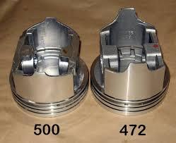 page cadillac engine identification cad company online catalog 472 vs 500 piston skirt