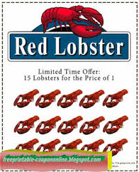 Coupon Sherpa Red Lobster Printable Coupons Butterfly World