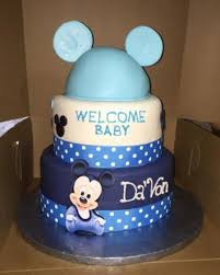 Baby Shower CakesBaby Mickey Baby Shower Cakes