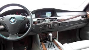 BMW Convertible 2006 bmw 530xi review : 2006 BMW 530xi, silver - Stock# LG68546 - Interior - YouTube