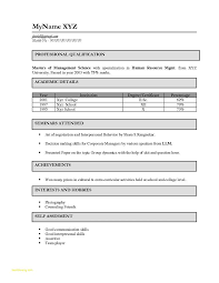 Sample Resume For Freshers Engineers Pdf Download And Puter Science