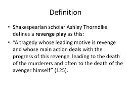 hamlet a revenge play