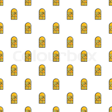 Hopscotch Pattern Custom Hopscotch Game Pattern In Cartoon Style Seamless Pattern Vector