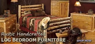 Rustic Log Furniture Handcrafted Rustic Log Vanities