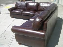 thomasville leather sectional. Delighful Leather SOLD  Thomasville Leather Sectional Sofa 2400 With R