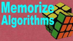 How To Memorize Rubiks Cube Algorithms Beginners Tutorial