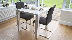 small dining chairs modern white gloss kitchen set for black table plans 17