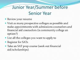 college readiness and college essay preparation 9 junior year summer before senior