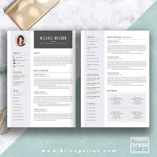 Original Resume Template Modern Resume Template Cv Get Noticed Creative Unique Templates 95