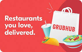 Grubhub Gift Cards - Email Delivery: Gift Cards - Amazon.com
