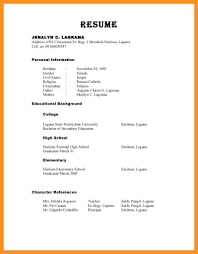 10 Number Of References On Resume Payment Format