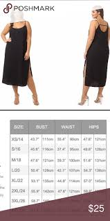 City Chic Size Chart City Chic Midi Dress Size Xl Which Is Equivalent To 22 In