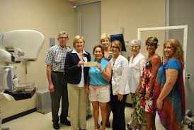 leconte breast center receives donation from dr robert f thomas donation