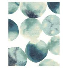 blue circles rug watercolor circles special order rug day delivery solid navy blue round rug navy