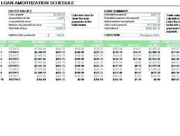 Loan Amortization Schedule Template Inspirational Bill Paymentloan