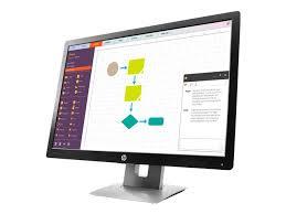 Hp Display And Notebook Ii Stand M100P100ATABU HP EliteDisplay E100 LED monitor 100 Currys PC 68