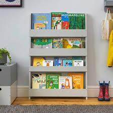 children s bookcase pale grey