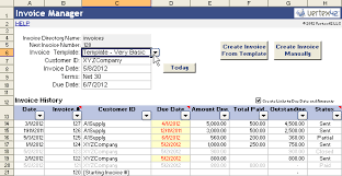excel bill vertex42 invoice assistant invoice manager for excel