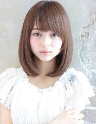 柔らかストレート小顔ボブtyー134 ヘアカタログ髪型ヘア