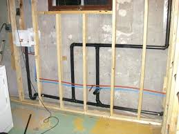 basement bathroom plumbing. Astounding Installing A Bathroom In The Basement Sweetlooking Install Hanakyou Info Plumbing