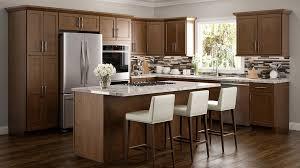 amesbury brown kitchen cabinets