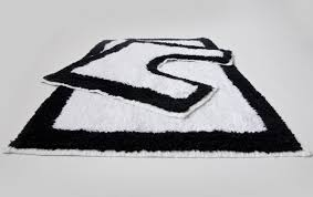 bathroom non slip bathroom rugs black and white chevron rug cotton bath mat non slip