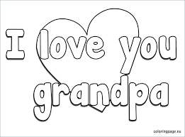 free printable fathers day coloring pages for grandpa kids
