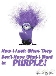 Purple Quotes Enchanting 48 Hilarious Purple Minions Quotes 48 Funny Minions Funny Funny