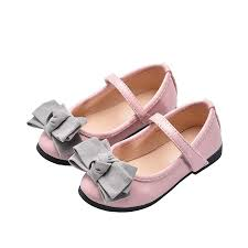 spring autumn new bowknot baby girl leather shoes children girls princess shoe kids toddler shoes dancing party 2 15year