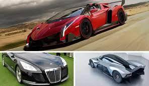 Isso é excelente colecção de papéis de parede de carro para seus desktops e laptops. Los 10 Carros Mas Caros Del Mundo