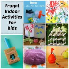 indoor activities for kids. Frugal Indoor Activities For Kids S